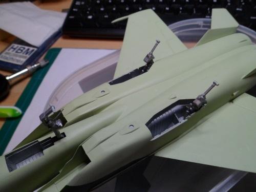 Pas-à-pas : MiG 25 Foxbat [Condor 1/72] - Page 3 31106094876_438a80a66c_o