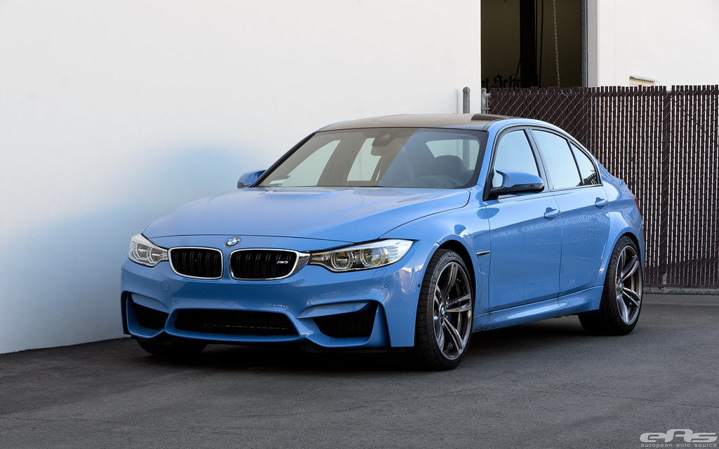 Yas Marina Blue Bmw F80 M3 41 European Auto Source Flickr