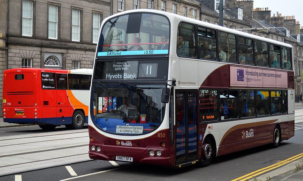 Lothian Buses: 850 / SN57DFA | Lothian Buses' Volvo B9TL/Wri… | Flickr