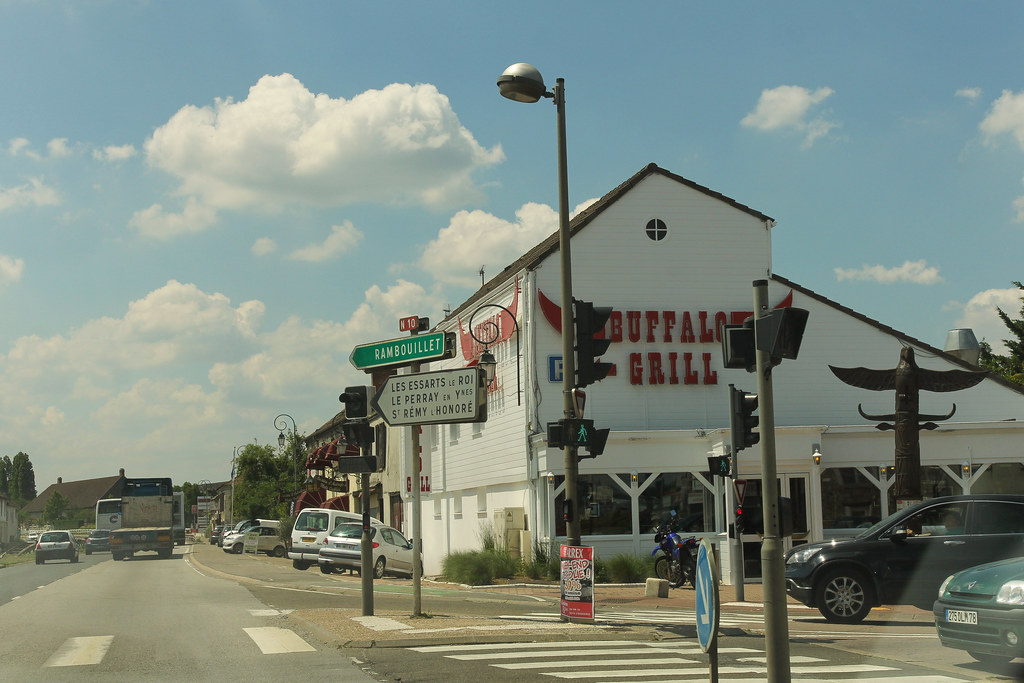 Route nationale 10 coigni res france route nationale 1 flickr - Buffalo grill rambouillet ...