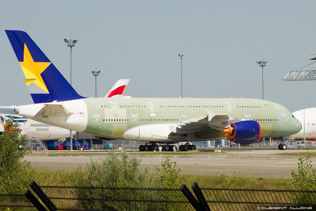 Skymark Airlines Airbus A380 841 Cn 162 F Wwsl Ja380a
