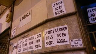 La ONCE no es social
