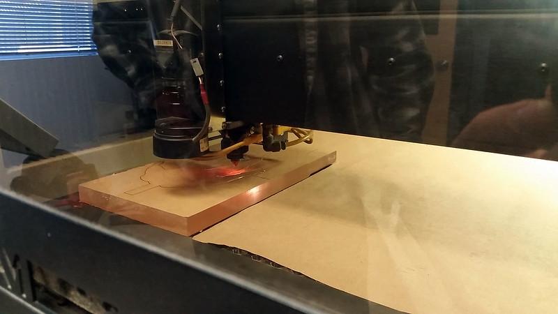"""Laser Cutting 3/4"""" Acrylic"""