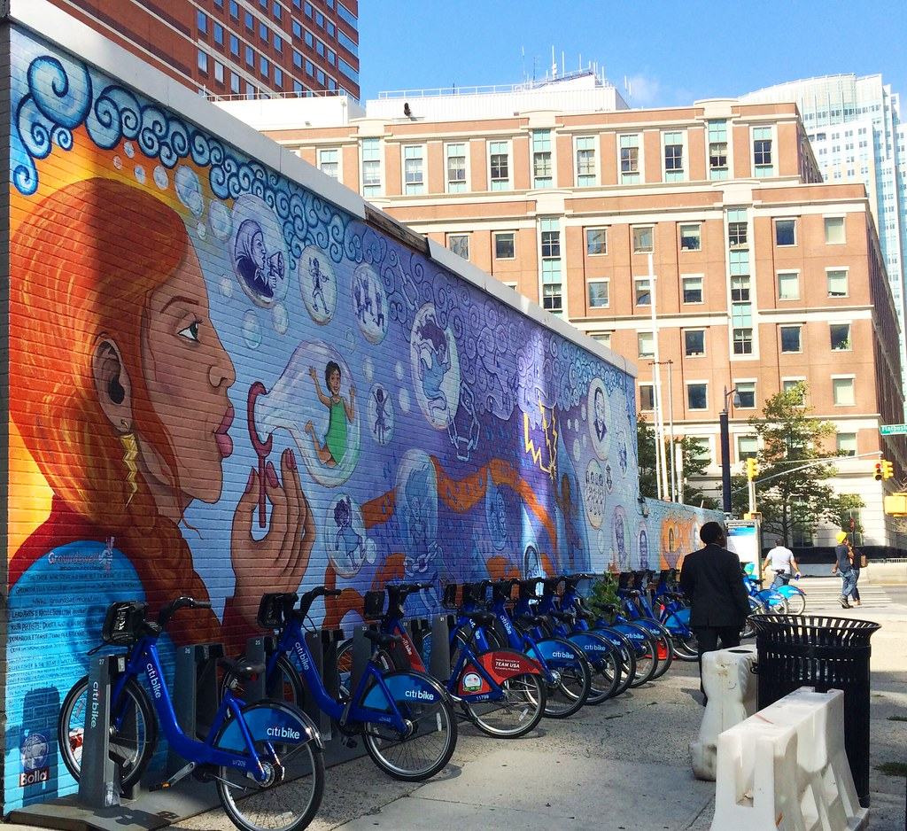 Arte urbano en Brooklyn NY