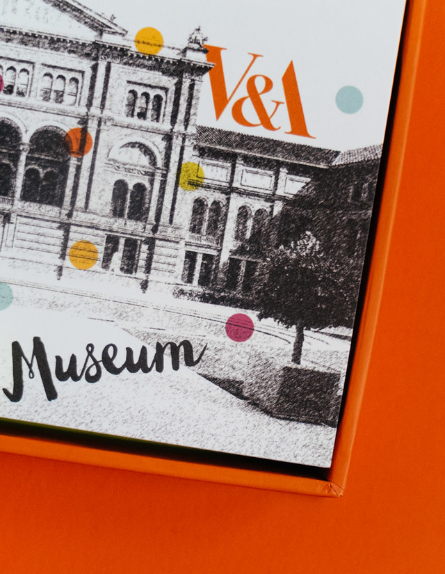 the very arty box from the V&A
