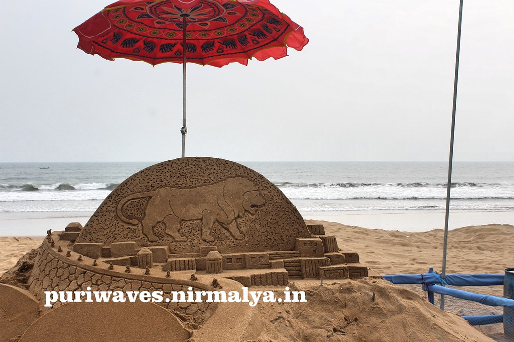 International Sand Art Festival – 2016 – Konark, Puri Odisha