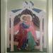 2014 Icône de la sainte Rencontre de Anne et Joachim - Holy Meeting of Anna and Joachim Icon (main de Virginie Desjardins)