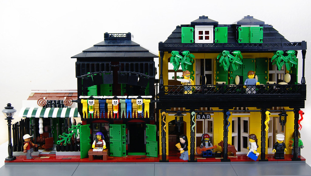 Street new orleans style 2 lego moc a moc inspired for Salon n 6 orleans