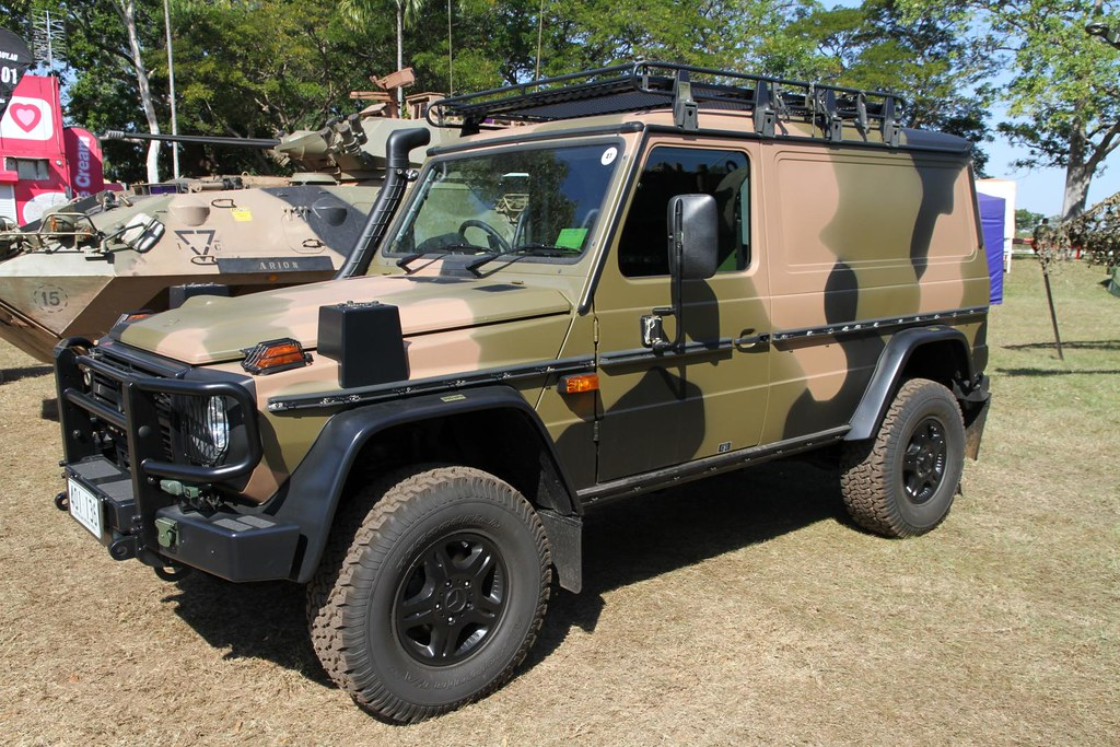 Australian Army Mercedes Benz G Class Or G Wagen Short Fo