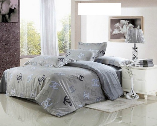 Chanel Bed Set Ch 25 Chanel Bedding Set 4 Piece 2