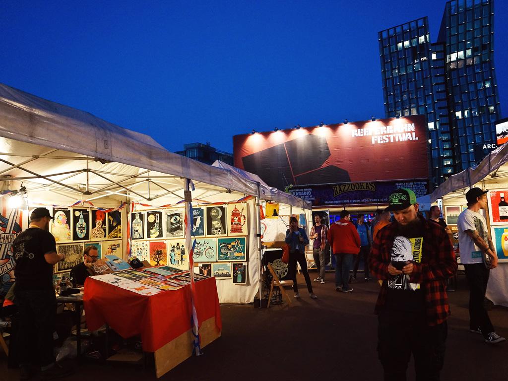 Flatstock Poster Convention Reeperbahn Festival