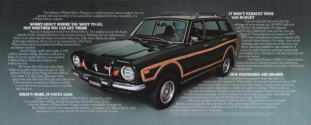 Early Subaru 4wd
