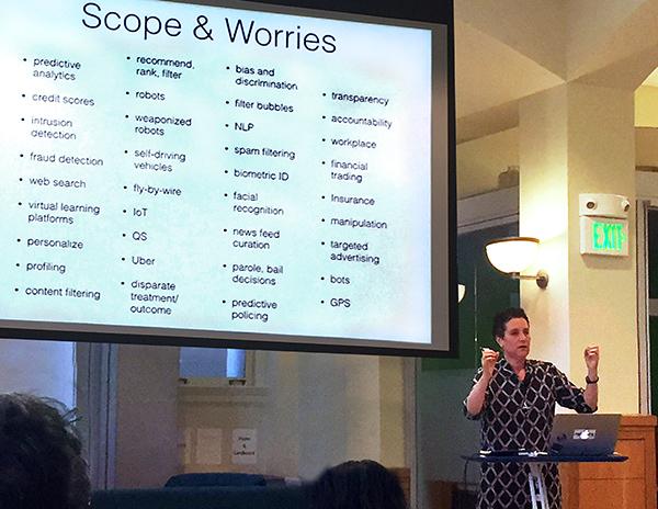 Helen Nissenbaum - Algorithms in Culture keynote