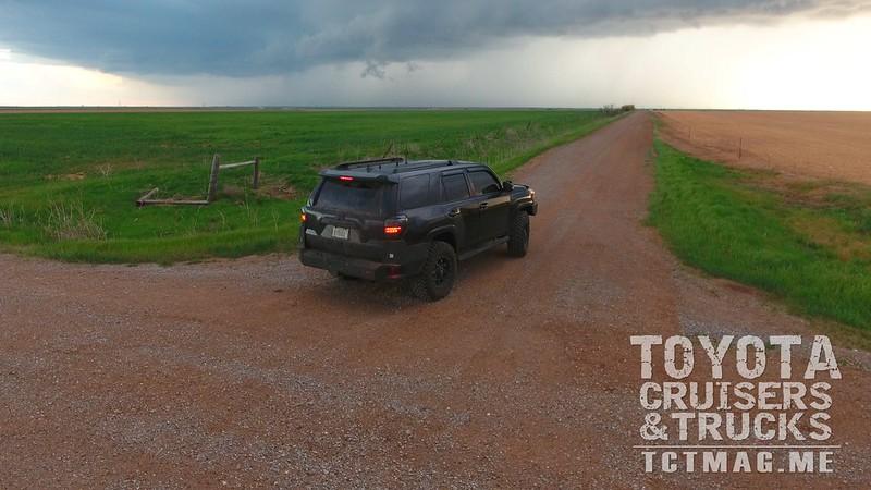 Storm Chasing 4Runner