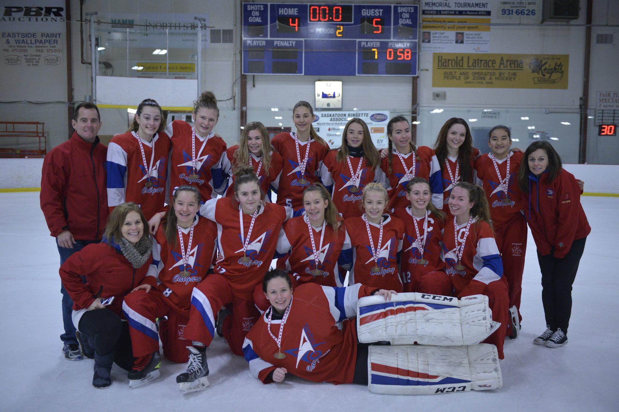 Nov 13, 2016 - Sask BPM - U16AA Pace wins Gold