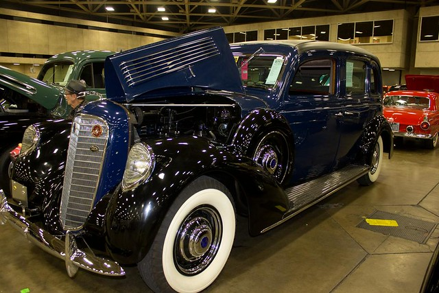 1938 Lincoln Limo 1
