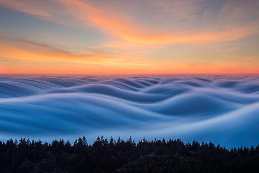 Волны тумана – самое красивое явление природы - ПоЗиТиФфЧиК - сайт позитивного настроения!