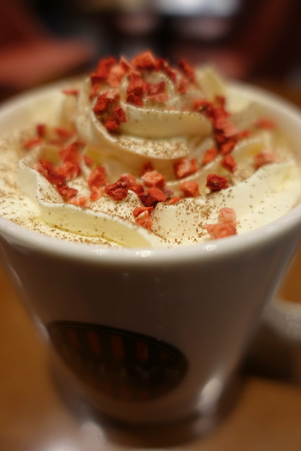 mascarpone tiramisu latte at Odawara Tully's