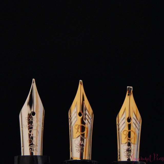 Review 90th Anniversary Omas Icons Celluloid Collection Set @PapierundStift 53