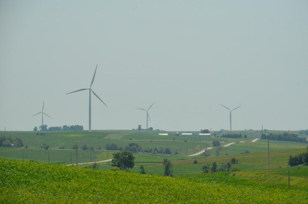 Iowa Wind Farm  Tnchanse  Tom Hansen  Flickr