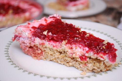 Cranberry Pretzel Pie