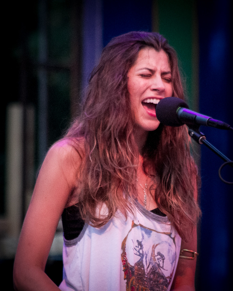 Katie Toupin With Houndmouth At Prescott Park