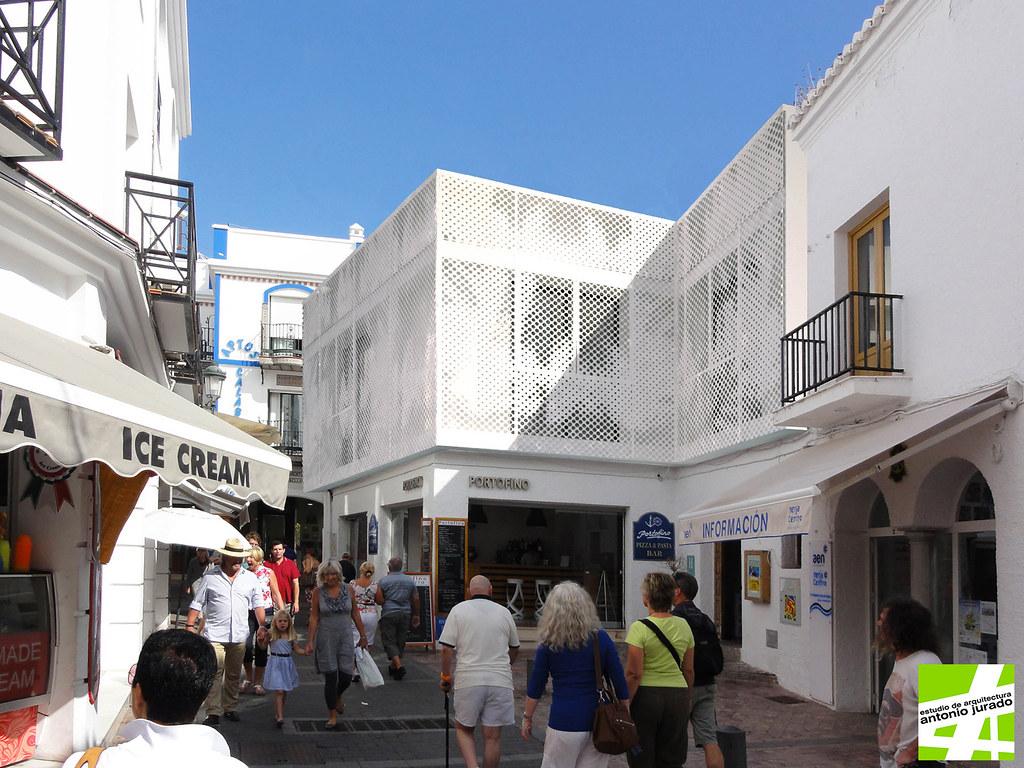Fachada de vivienda en nerja m laga arquitecto antonio flickr - Arquitectos en malaga ...