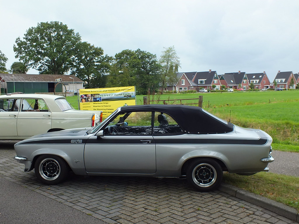 opel manta gt e cabriolet 1975 huisvlijt of origineel. Black Bedroom Furniture Sets. Home Design Ideas
