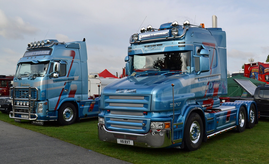 Longthorne - Volvo FH16 Globetrotter XL 660 & Scania T580 … | Flickr