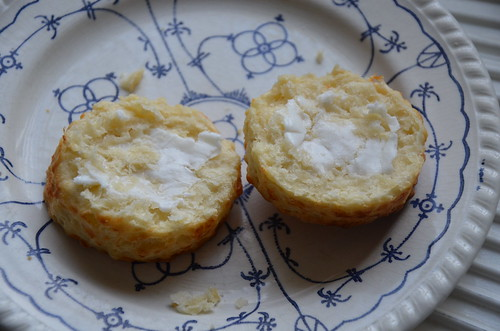 scone with goats butter June 15