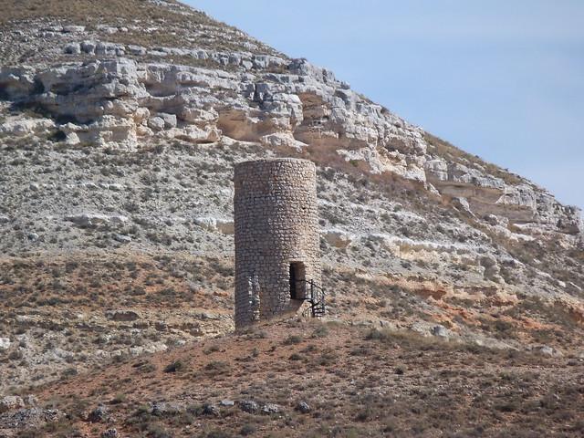 Atalaya islámica La Veruela camino a Bordecorex (Tierras de Berlanga, Soria)