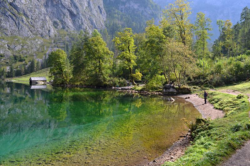 Emerald Lake Obersee, Konigssee, Bavaria