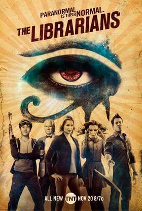 Bibliotekininkai (3 sezonas) / The Librarians (Season 3) (2015)