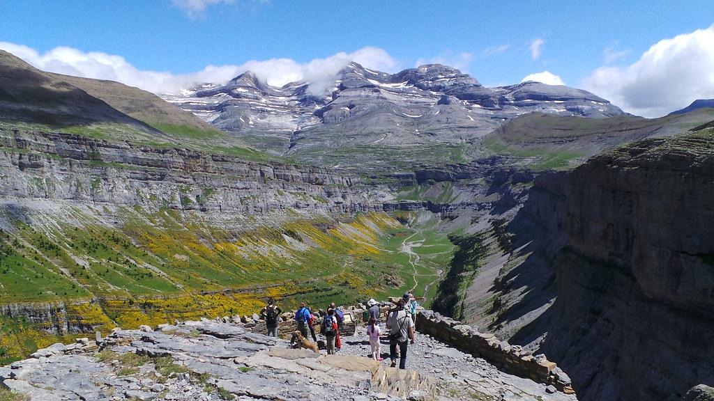 Mirador de ordesa quinta parada en la ruta programada en for Mirador del pirineo