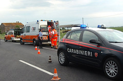 carabinieri ambulanza incidente