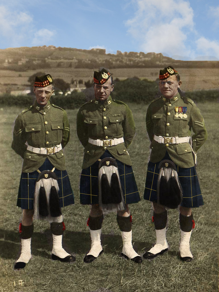 Gordon Highlanders Thanks To Northernkite Graeme For