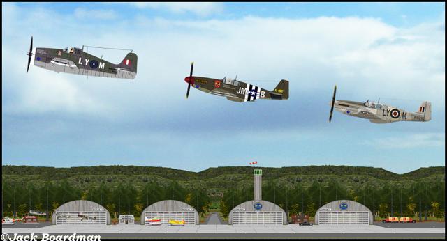 Debra's team took to the air ©Jack Boardman