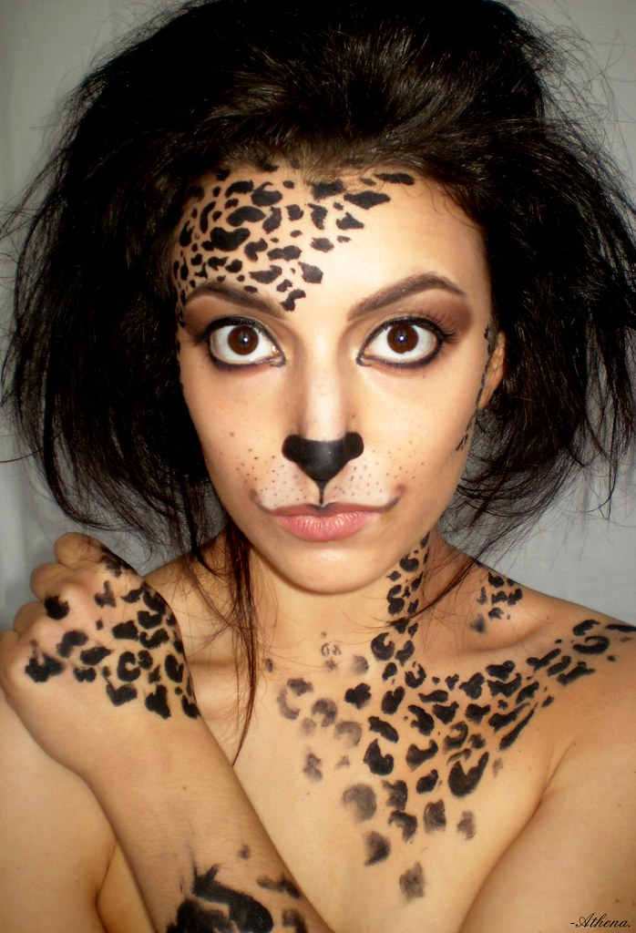 Leopard Print Body Paint