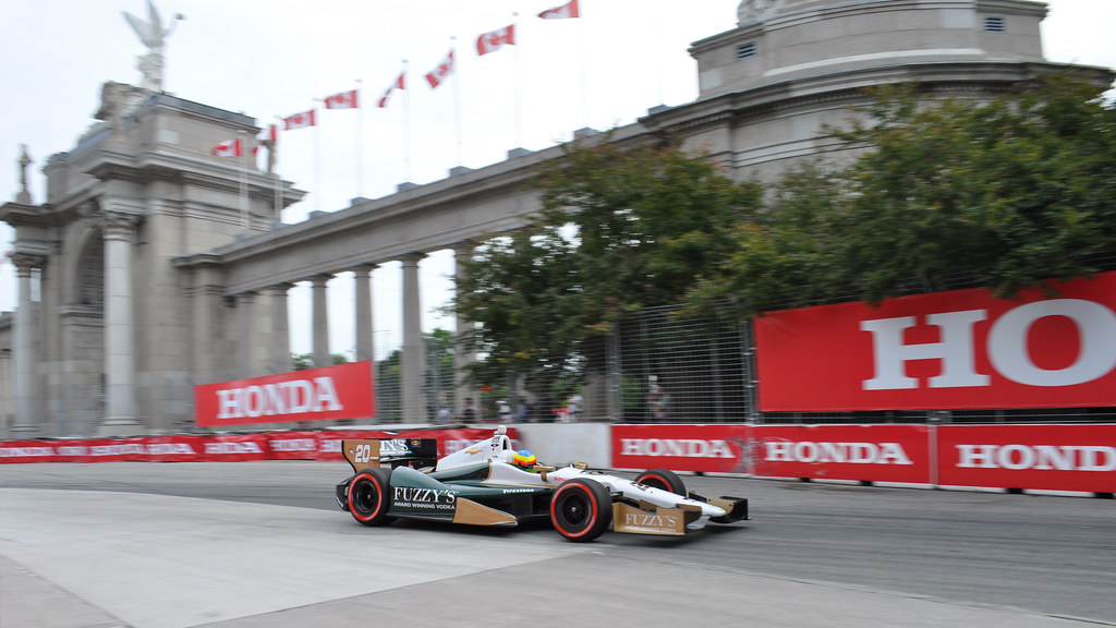 Honda World Conway >> Mike Conway and the Princes' Gate | Race #2 winner Mike Conw… | Flickr