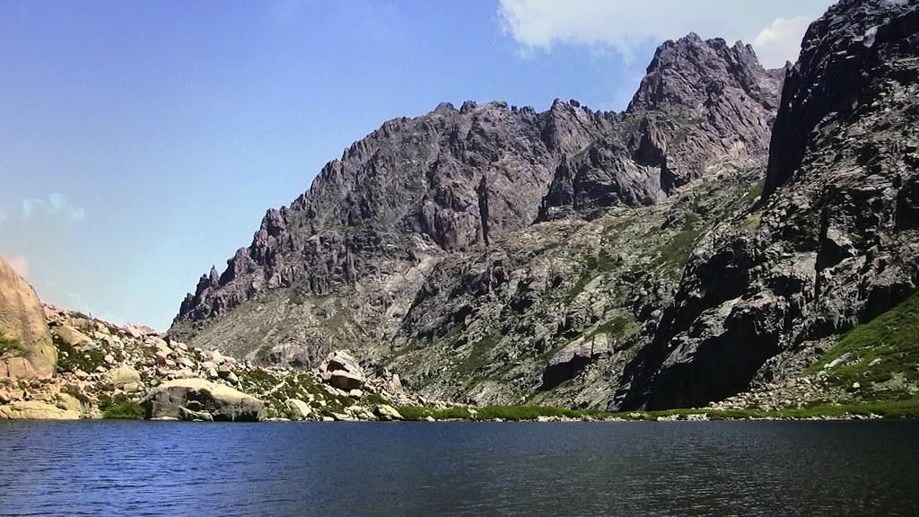 KORSIKA, Restonica-Hochtal, am Lac del'Oriente, 11403/3855