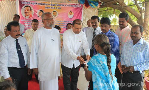 Sahana Aruna loan scheme launched  in Jaffna,More than 2000 enrollments on the first day - 01 September 2014