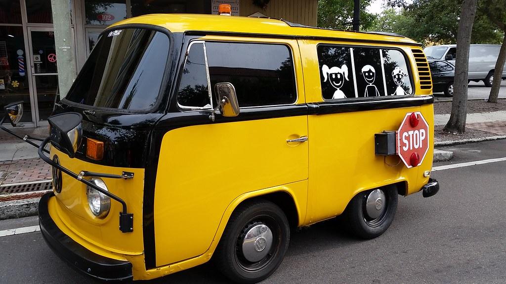 Volkswagen School Bus Tarpon Springs Sponge Docks