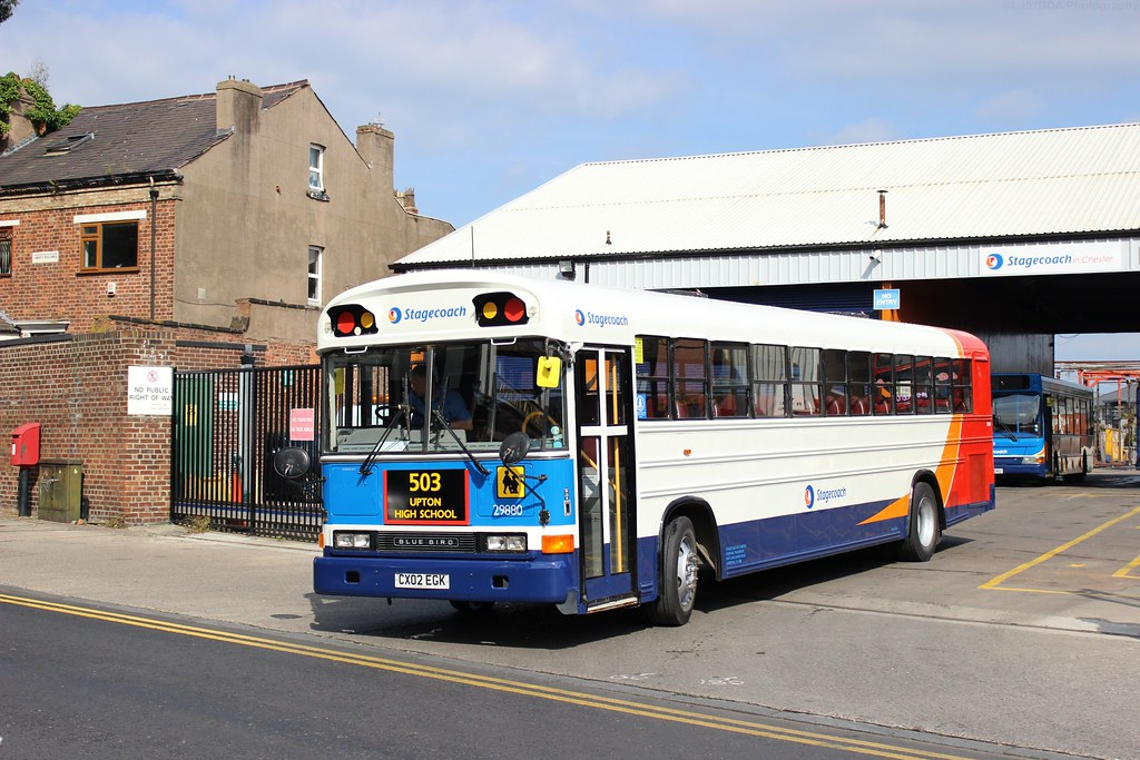 stagecoach chester amp wirral cx02egk 29880 here in