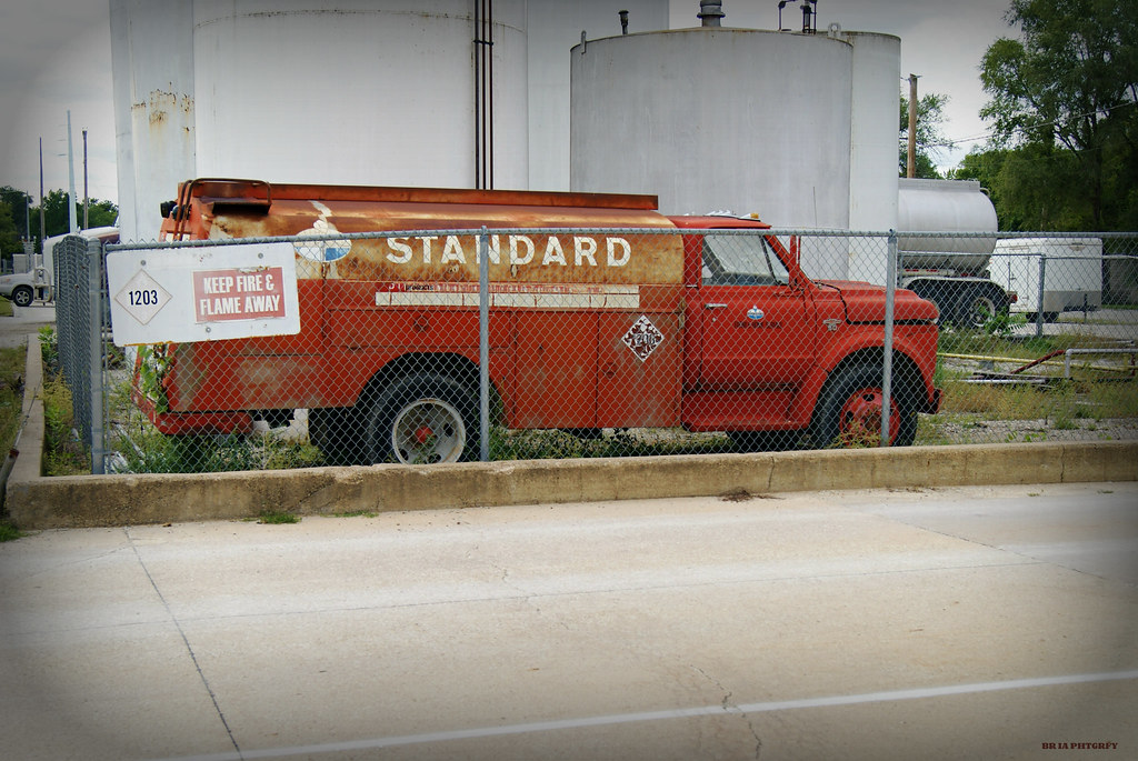 Chevy Truck New >> Standard Oil Delivery Truck   1960's Chevy C50 fuel delivery…   Flickr