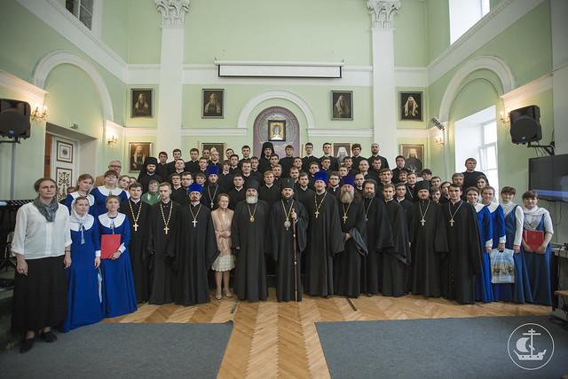 Выпускной акт Санкт-Петербургской православной духовной академии