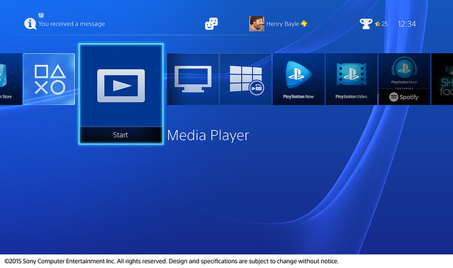 E3 2015 – PS4 Media Player Releases Tonight