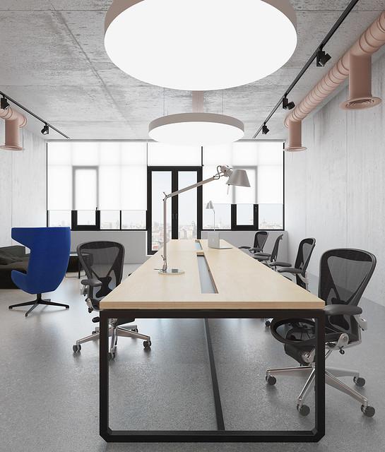 Pink office design in Ukraine by Emil Dervish Sundeno_05
