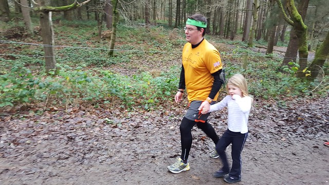 Wyre Forest parkrun Christmas Eve 2016