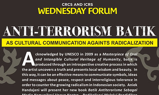 Anti-Terrorism Batik as Cultural Communication Against Radicalization