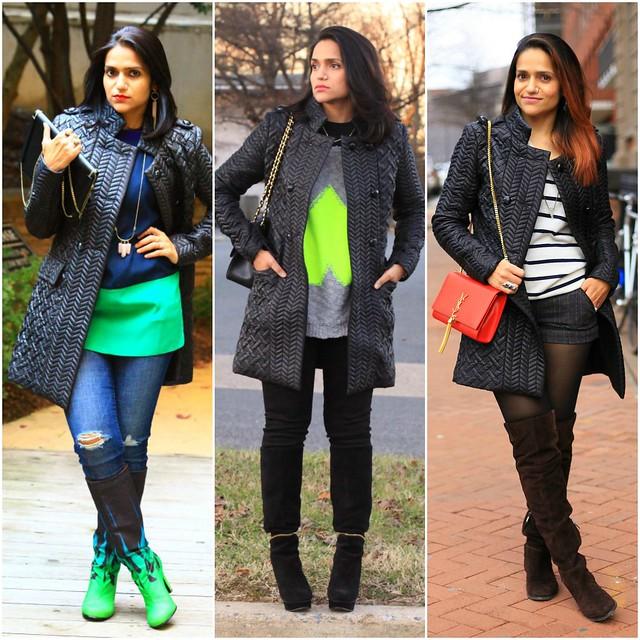 13_Three Ways To Style A Black Poufer Jacket Tanvii.com